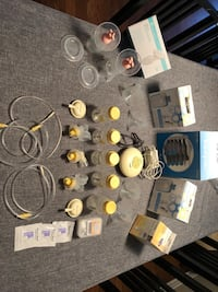 Medela swing single electric pump and additional related items  Ottawa, K1T 3Z9