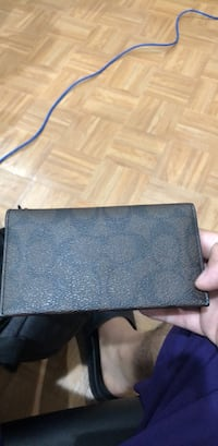 black leather bi-fold wallet Germantown, 20876