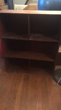 brown wooden 3-layer shelf Oakland, 94605