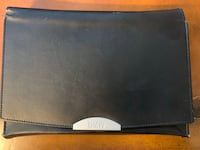 BMW OEM Owners Manual Leather case black wallet Mc Lean, 22101