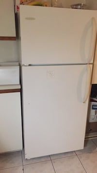 white top-mount refrigerator 791 km