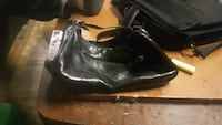 Feet first black leather purse Winnipeg, R2W 2B6