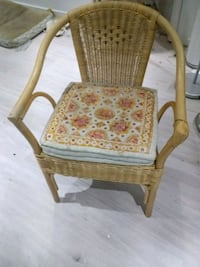 Natural rattan side chairs 1 for 35 or 2 for 60 Dollard-des-Ormeaux, H9B 2H1