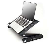 Portable Adjustable Vented Laptop Stand Brea