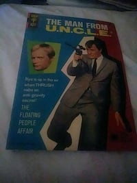 Man From Uncle..comic book 1966 Los Angeles, 90069