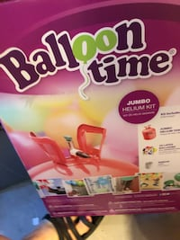 Balloon time helium tank. Brand new! Abingdon, 21009