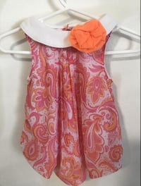 Baby Girl Party Bodysuit Dress 0-3 M used Los Angeles, 91606