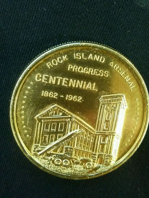 Rock Island Arsenal coin