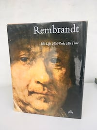 Hardcover Art Book. Rembrandt : His Life, His Work, His Time. H14W11