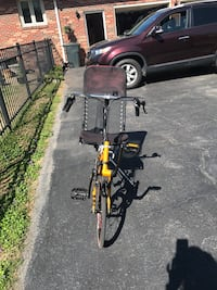 yellow bicycle with mesh seat Hendersonville, 37075