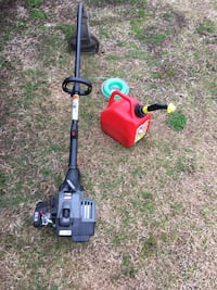 Like new craftsman weedeater with extra line and gas can