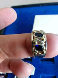 REAL SILVER RING. SIZE 6. DOUBLE RING AT THE TOP Calgary, T3A 3H1