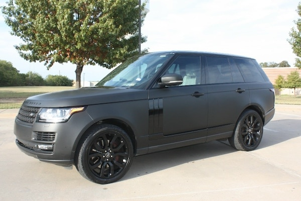 Range Rover Matte Black >> Used 2013 Land Rover Range Rover 4wd 4dr Hse W Matt Black Wrap For