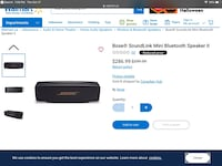 Bose sound link mini Bluetooth speaker with charging dock 10condition