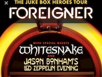 Foreigner / White Snake Concert Tickets Alexandria, 22310