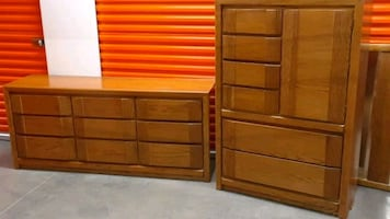 Dresser Set $80/each or $140/pair  Maple Grove