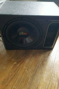 Powerbass 10 inch sub and amp Lakewood, 44107