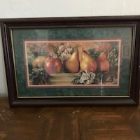 brown wooden framed painting of fruits Corpus Christi, 78413