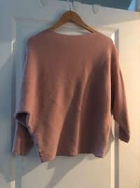 Anthropologie  size large cashmere blend sweater ~ dusty rose ~ size large Surrey, V4N 6A2