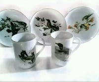 John James &  Glen Loates plate & cup collection  Toronto, M6M 1T1