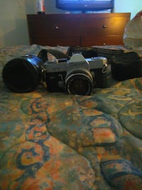 black and gray DSLR camera Modesto, 95350