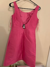 Brand new Pink silk cocktail dress from Banana Republic size 0  Richmond, V6Y 1Z5