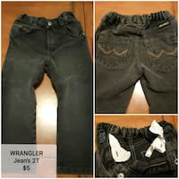 two black and gray denim jeans Jacksonville, 32218