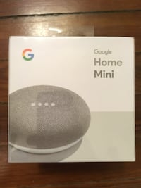 Google home mini new sealed Silver Spring, 20910