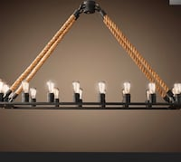 "Modern lightning chandelier with 18 bulbs, 49"" Lanham, 20706"