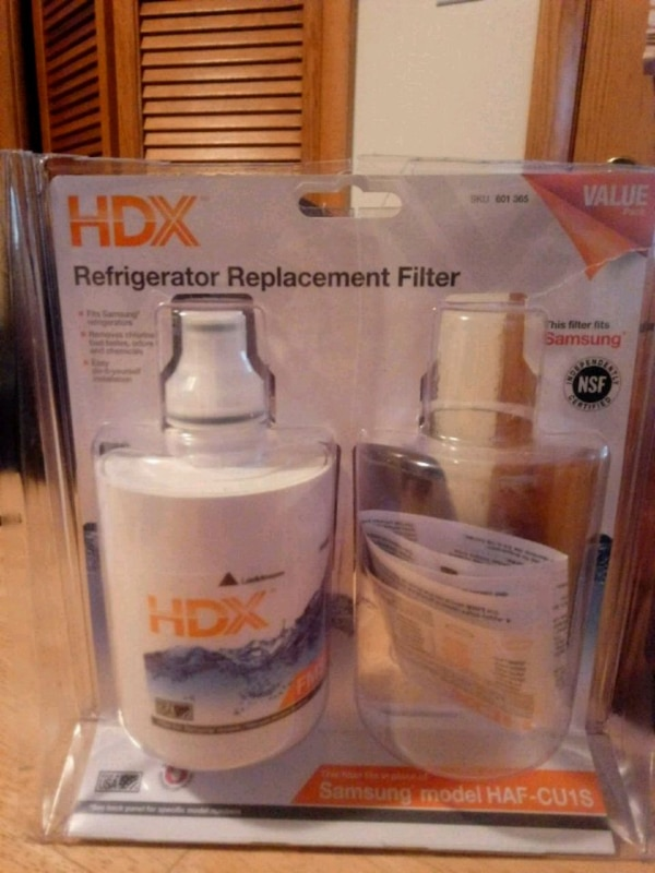 Refrigerator replacement filter