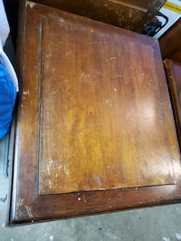 PAIR of side tables (need refinished