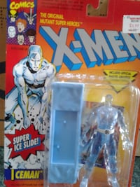 DC X-Men iceman figurine in blister package
