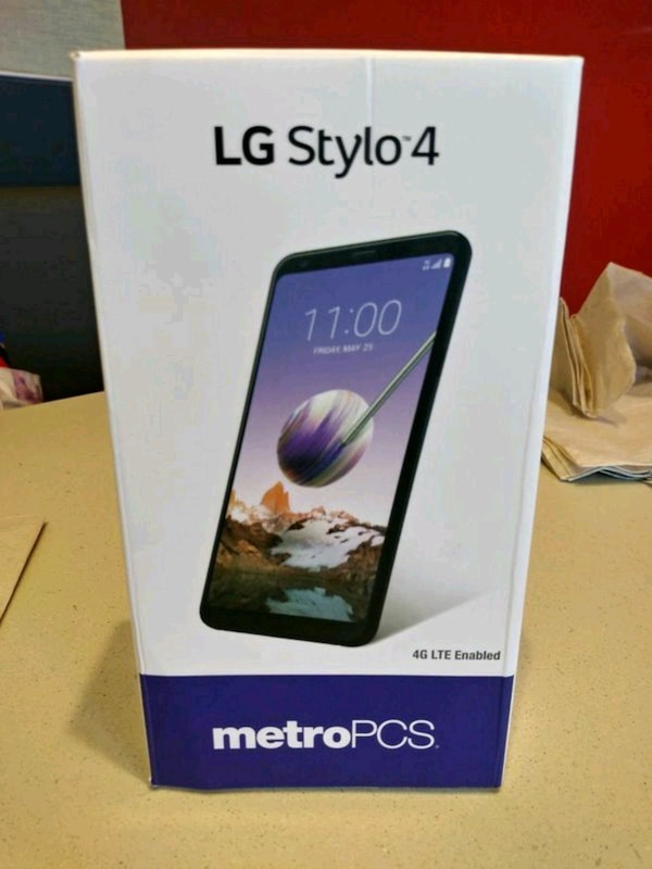 the latest e6ecf 486fa Lg Stylo 4 for Metro Pcs For Sale with Case