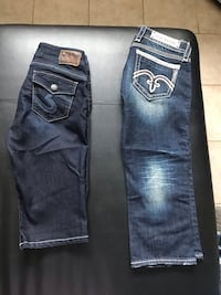 Brand new Rock revival & Silver caprees! Size 28 Windsor, N9B 3M1