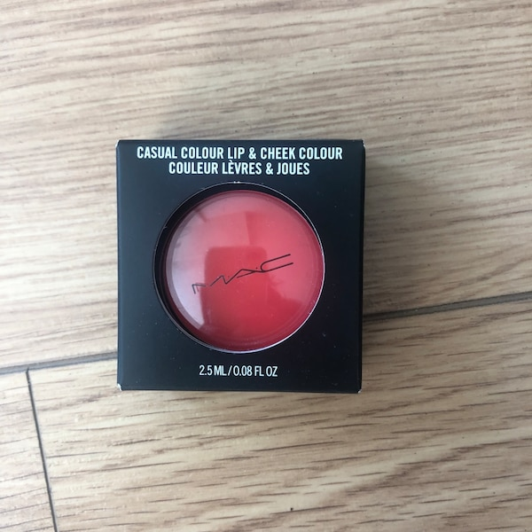 black and red MAC makeup palette