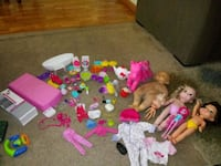 BARBIE, DOLLS, ACCESSORIES AND MORE !! Beaverton, 97006