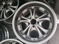 "18""×9"" Rims With Matte Black Finish Toronto, M8Y 2R3"