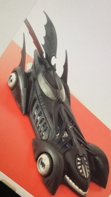 Batman batmobile 1996 forever dc comics