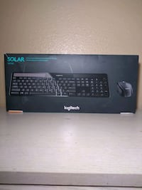 Logitech solar keyboard and wireless mouse Las Vegas, 89108