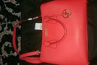 Red Micheal Kors purse  Burnaby