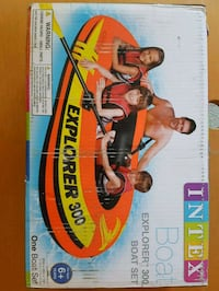 Explorer 300 Rubber Boat Set