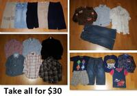 5T Boy Clothing Lot 1 (Take 21 Pieces for $30) Mississauga