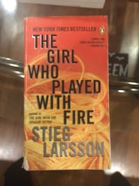 The girl who played with fire by stieg larsson Burlington, L7L 4R9
