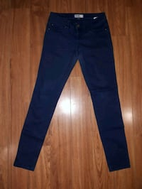 blue denim straight cut jeans Toronto, M5A 1Z8
