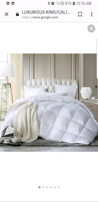 white and gray bed sheet Newport News, 23605
