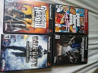 four assorted PS3 game cases York, 17401