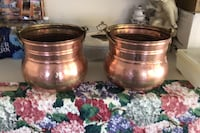 Copper fireplace containers Potomac, 20854