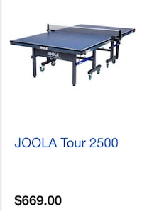 Pro ping pong table