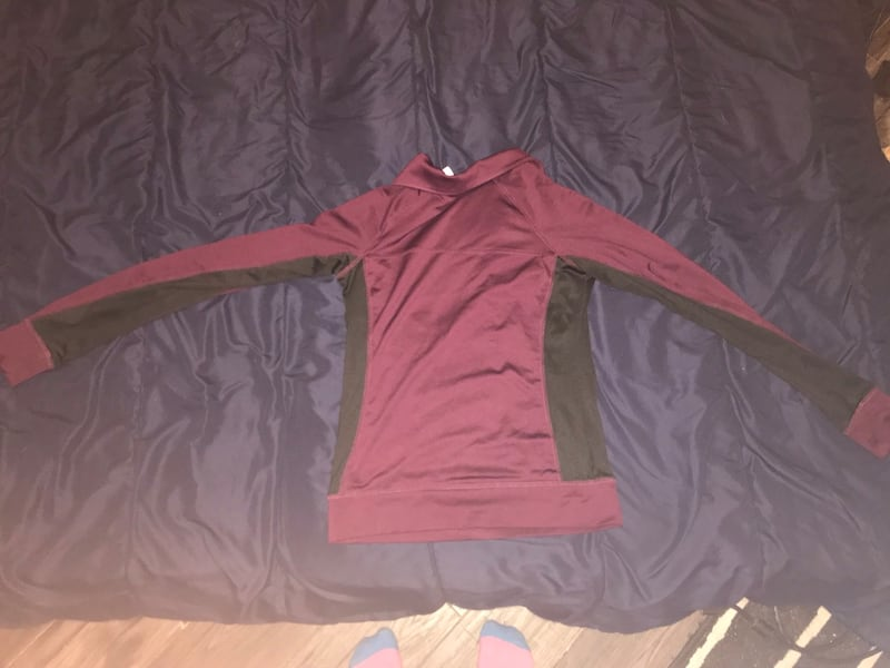 PINK half zip ULTIMATE sweater 1