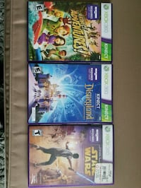 Xbox 360 Kinect Games Riverside, 92504